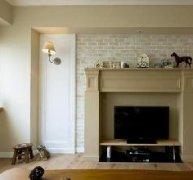 硅炭白材料家庭装修效果