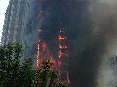 郑州外墙保温材料一工地仍用易燃材料令人担忧