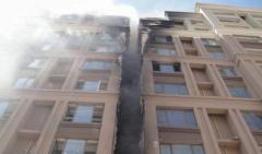 呼和浩特一建筑外墙保温材料起火